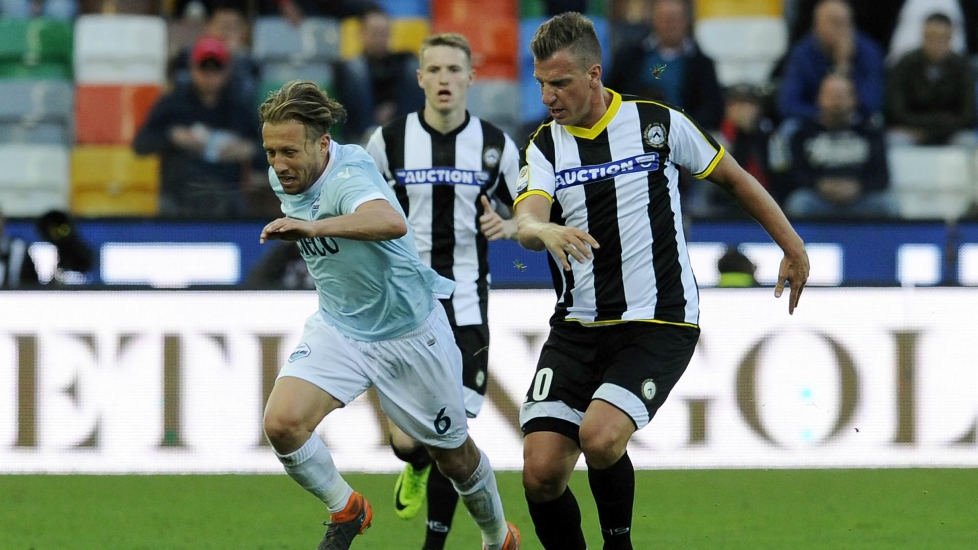 Lucas Leiva Maxi Lopez Udinese Lazio Serie A 04082018