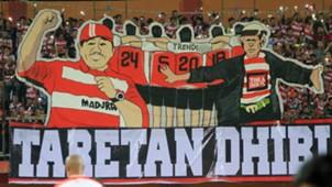 Suporter Madura United Fans Taretan