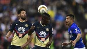 Oribe Peralta Darwin Quintero Club America Julio Dominguez Cruz Azul