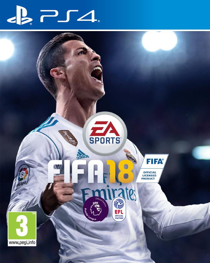 FIFA 18 Pack Shot