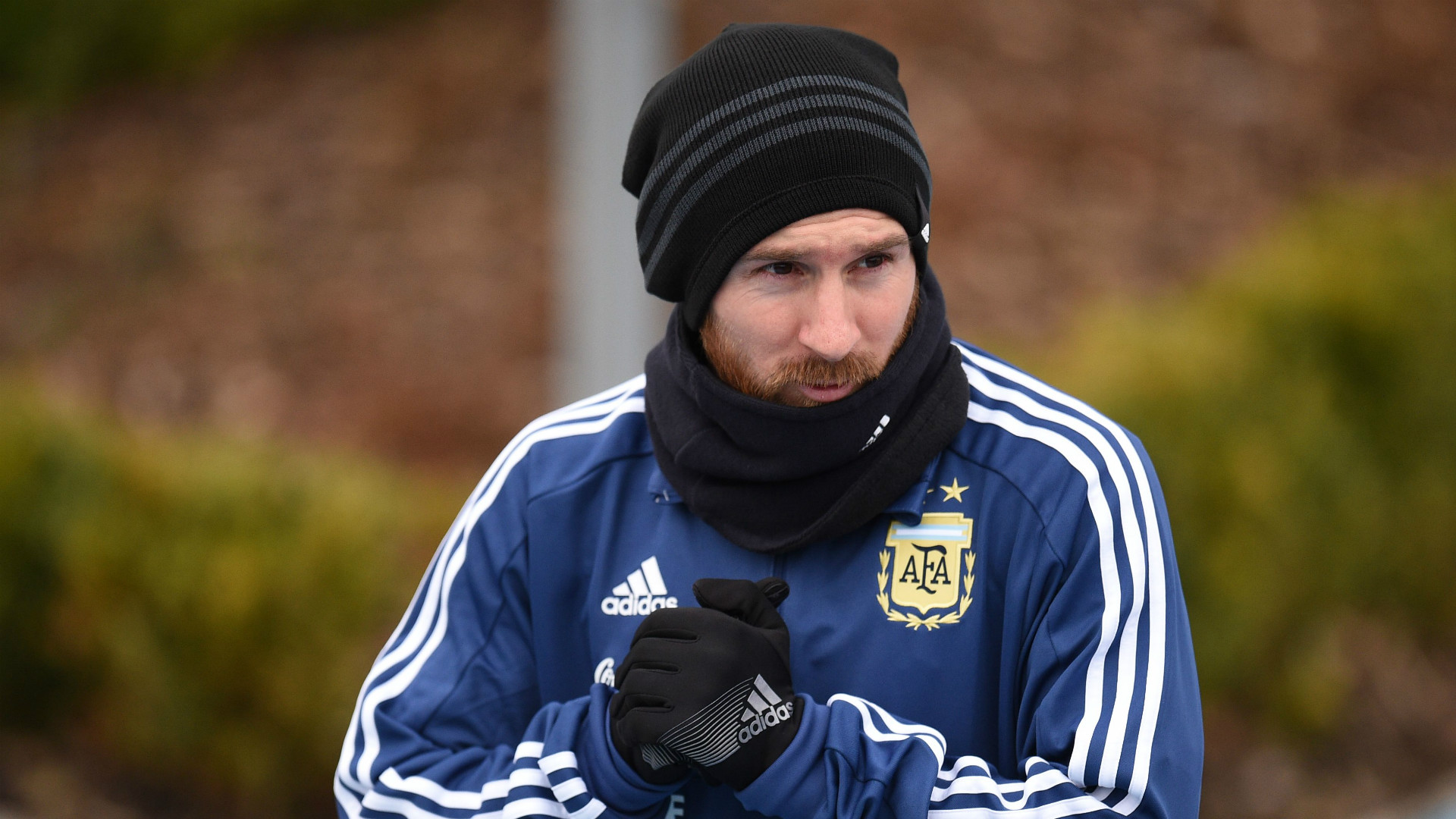 Lionel Messi Argentina Entrenamiento Manchester 22032018