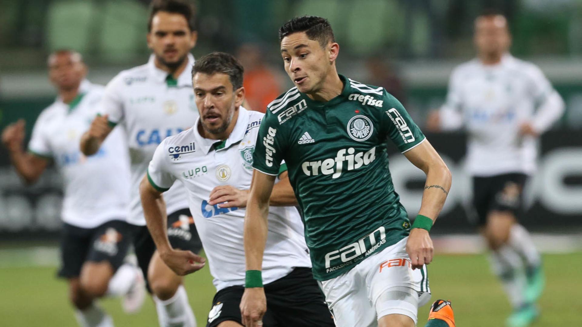 Diogo Barbosa Leandro Donizete Palmeiras America-MG Copa do Brasil 23052018