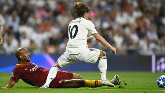 Luka Modric Real Madrid Roma Champions League 2018