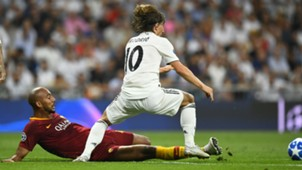 Luka Modric Real Madrid Roma Champions League 2018