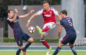 Hong Kong Premier League, Kitchee 3:0 won over South China.
