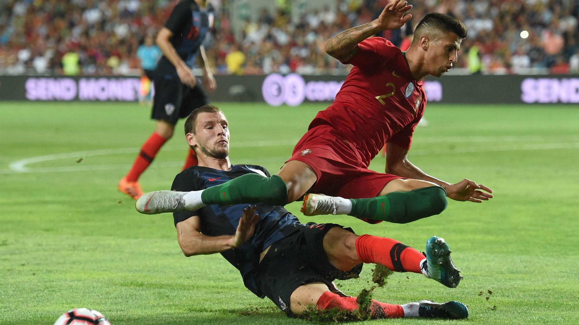 portugal croatia - borna barisic joao cancelo - friendly - 06092018