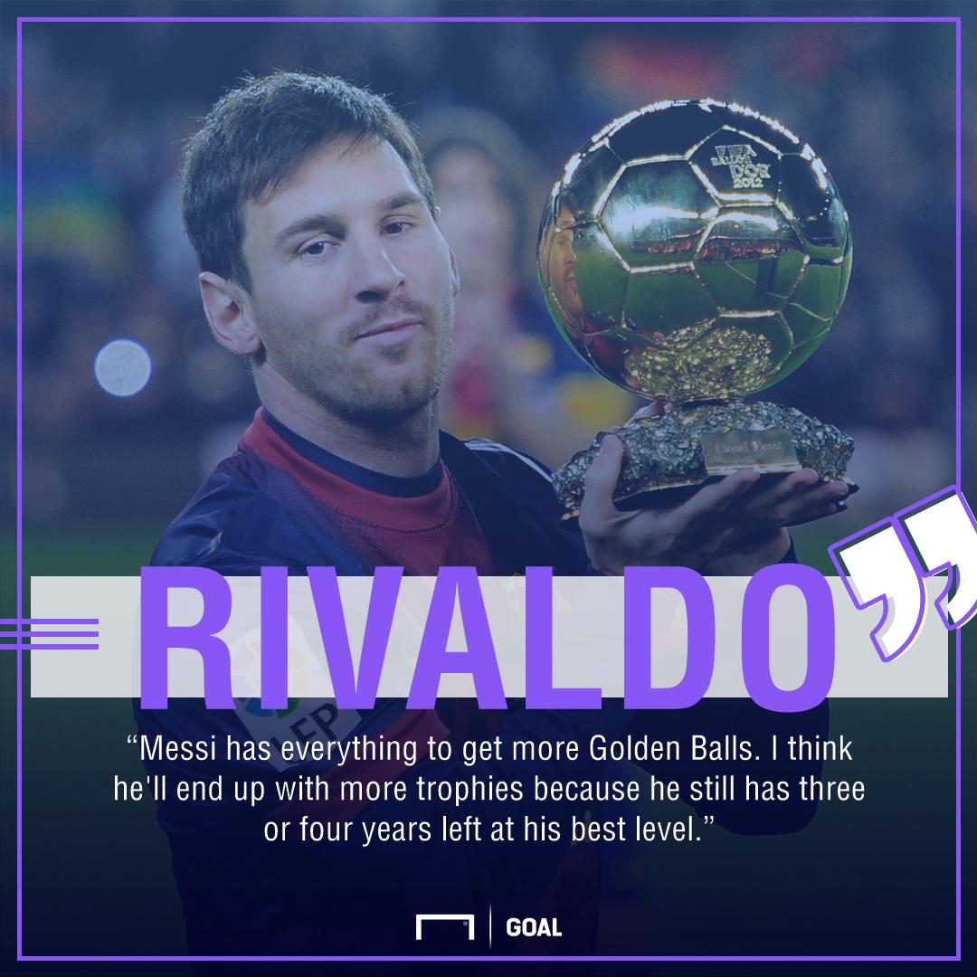 Rivaldo Lionel Messi Ballon d'Or