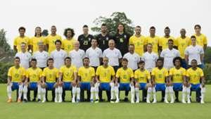 Foto oficial Brasil Copa do Mundo 2018