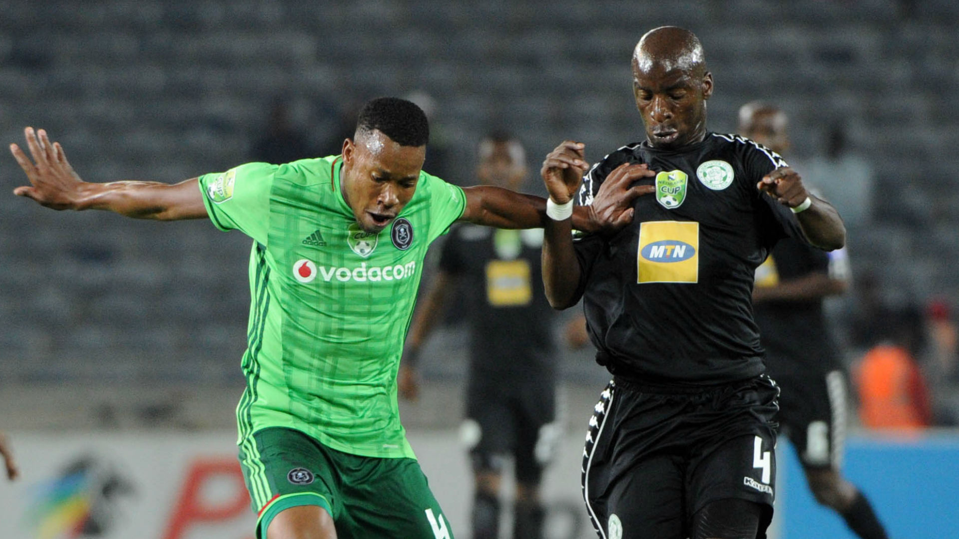 Orlando Pirates, Happy Jele & Bloemfontein Celtic, Musa Nyatama