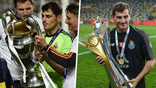 ce5f5973bbc Roma vs Porto  The rebirth of Real Madrid legend Iker Casillas in ...