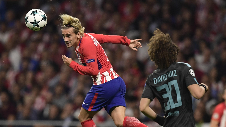 Antoine Griezmann Atletico de Madrid Chelsea UCL 27092017