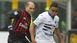 Gabriel Paletta, Luis Muriel, Milan, Sampdoria, Serie A, 02052017