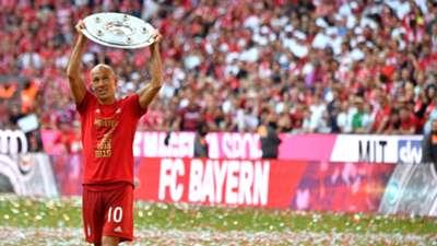 Arjen Robben FC Bayern München Meisterfeier Bundesliga 18052019