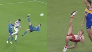 Cristiano Ronaldo Luke Parker