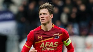 Wout Weghorst, AZ - Utrecht, Eredivisie 10222017