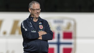 Lars Lagerbäck, Norway Training Session, 08302017