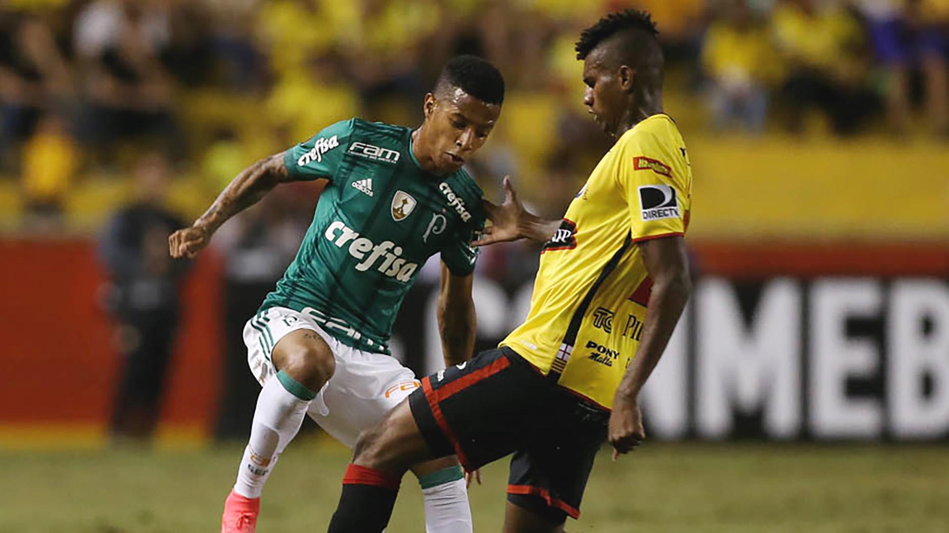 Danilo Tche Tche Barcelona Guayaquil Palmeiras Libertadores 05072017
