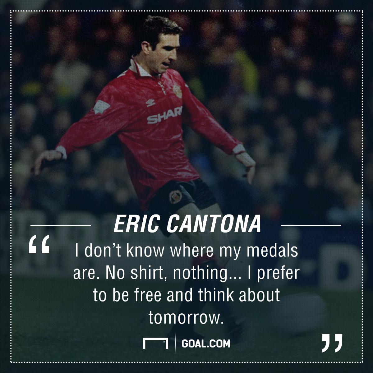 Eric Cantona quote