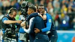France Belgium World Cup 2018 Paul Pogba Didier Deschamps
