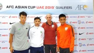 India v Macau pre-match presser