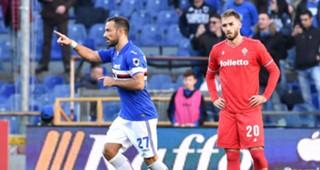 Fabio Quagliarella Sampdoria Fiorentina Serie A
