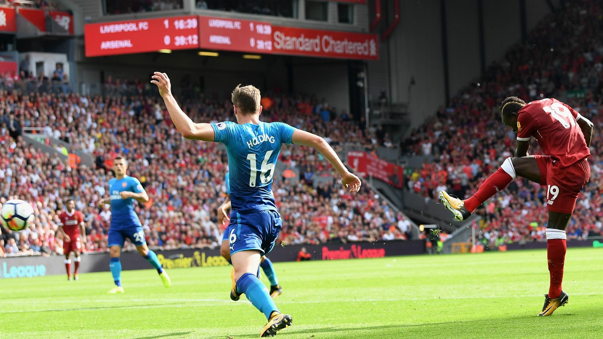 Sadio Mane v Arsenal