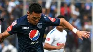 Roberto Moreira Motagua v OlimpiaHonduran Apertura Tournament football final 16122018