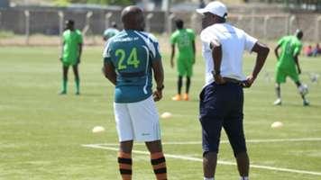 Sammy Omollo and Frank Ouna at KCB.