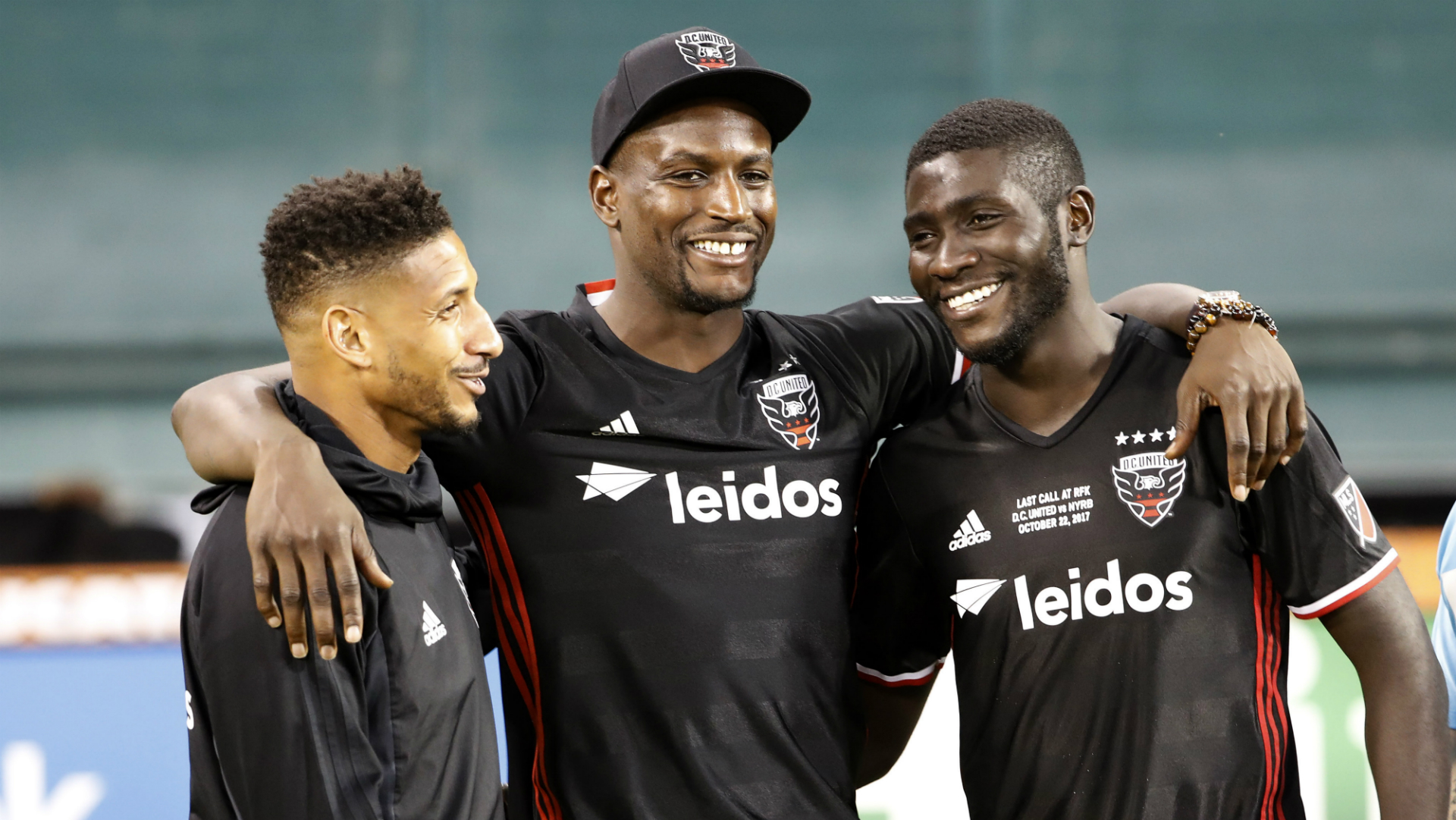 Sean Franklin Bill Hamid Kofi Opare D.C. United