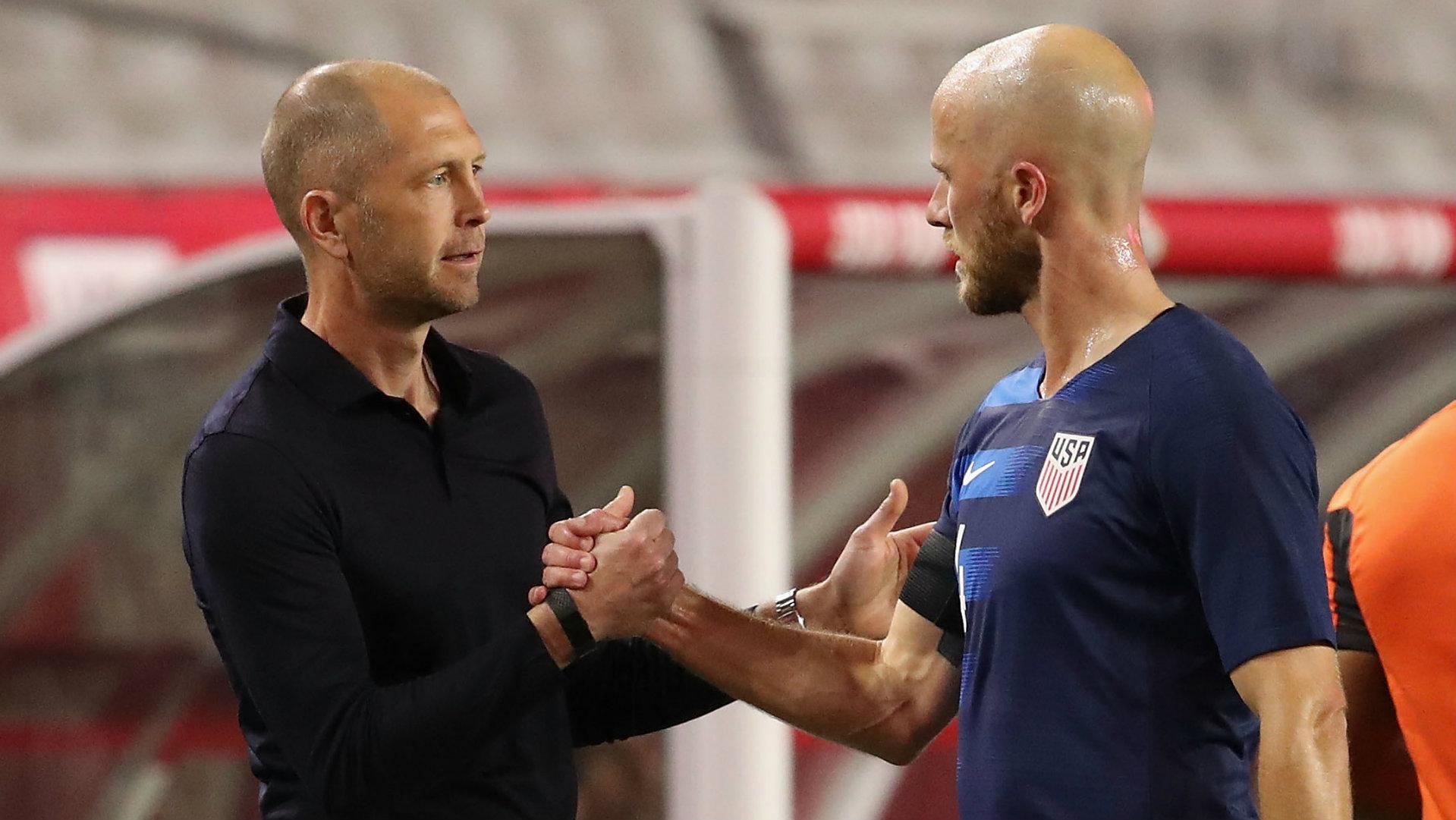 Gregg Berhalter Michael Bradley USMNT vs Panama 2019
