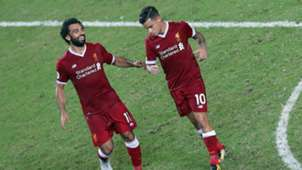 Mohamed Salah Philippe Coutinho Liverpool 22072017