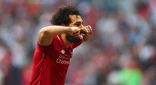 Mohamed Salah Tottenham Liverpool Champions League