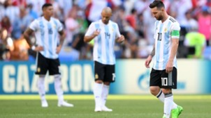 Mascherano Lionel Messi Argentina France Francia World Cup  2018 30062018