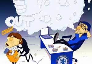 "Antonio Conte quitte Chelsea. Le ""fumeur"" Maurizio Sarri a fait fuir son compatriote italien !"