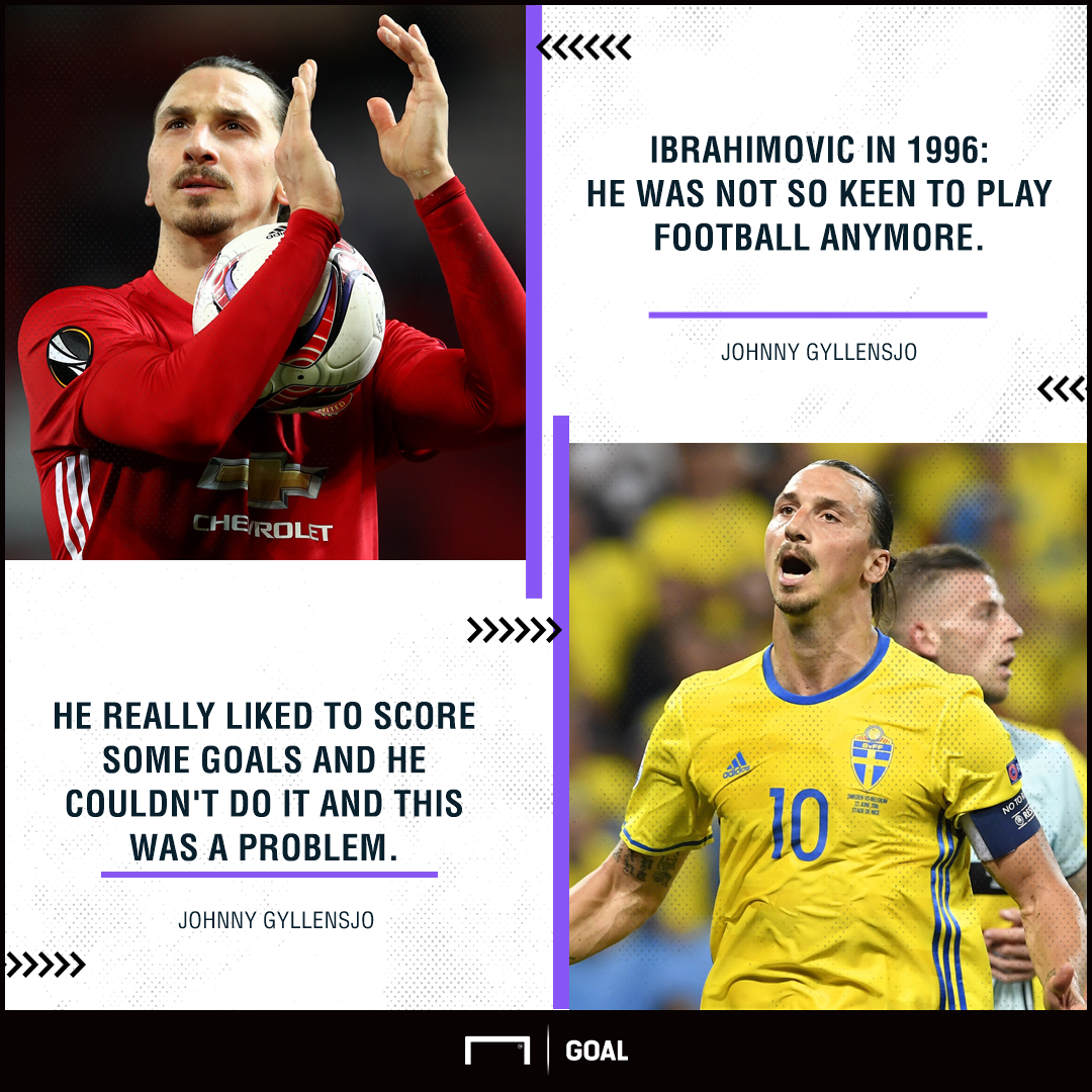 Zlatan Ibrahimovic quit threat 1996