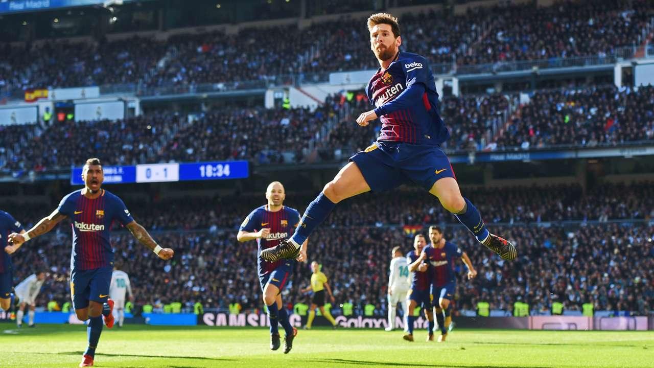 Lionel Messi Real Madrid Barcelona La Liga