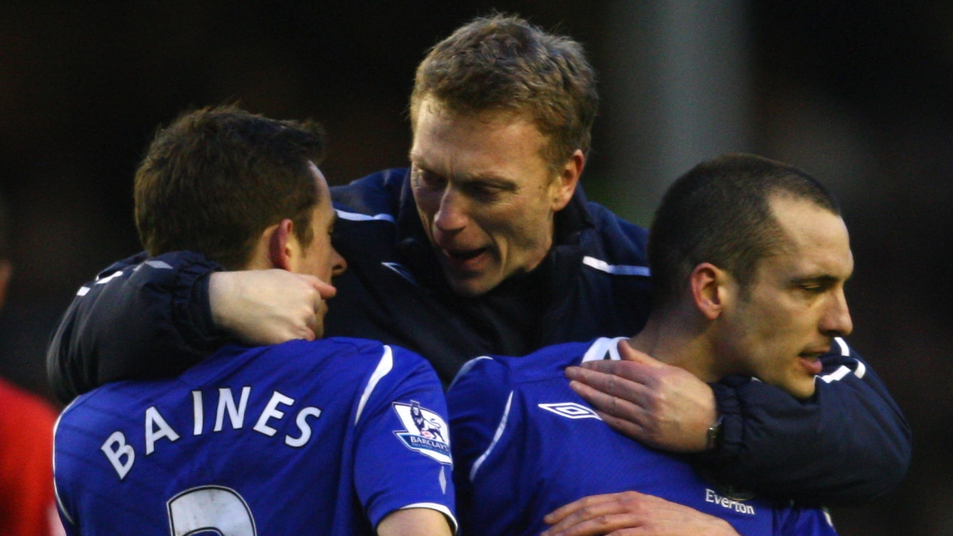 Moyes: Everton was a center-forward from the Premier League