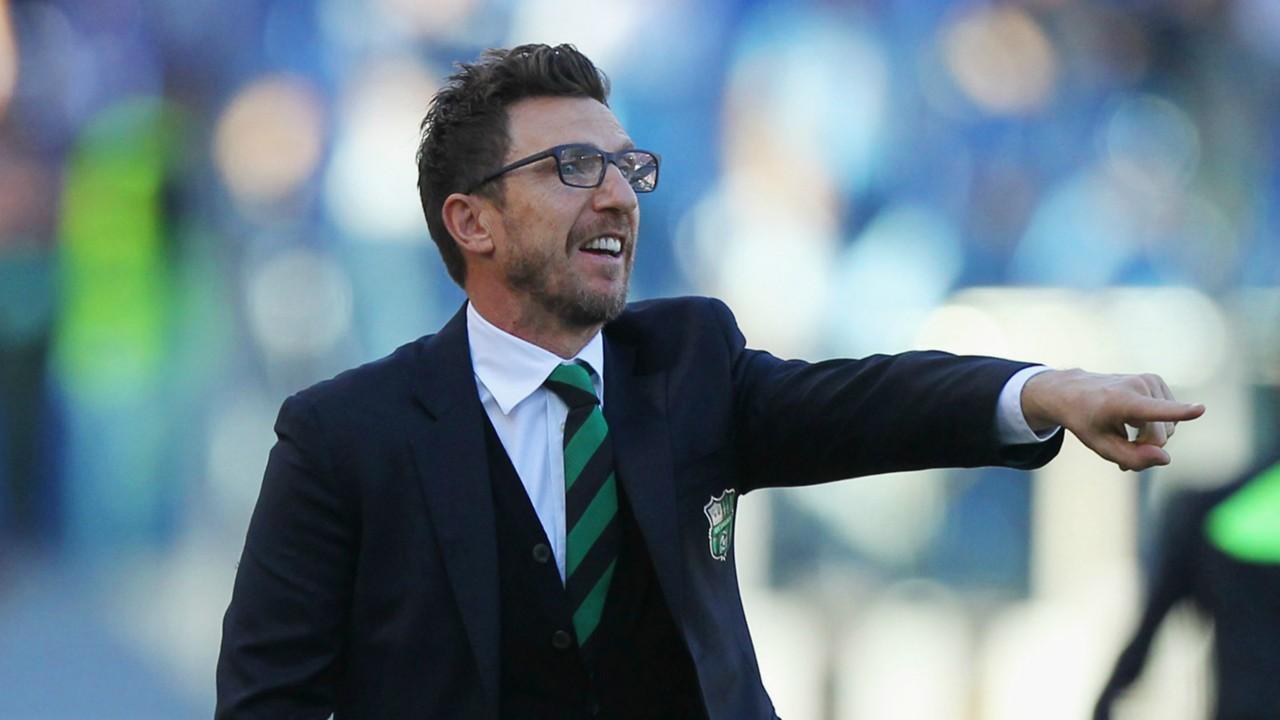 Serie A Eusebio Di Francesco leaves Sassuolo amid links to Roma