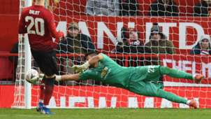 Sergio Romero Manchester United Reading FA Cup 5012019