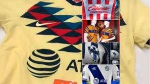 Posibles uniformes Apertura 2019 Liga MX