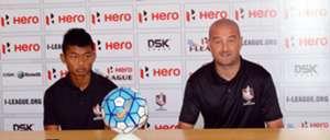 Dave Rogers Jerry Lalrinzuala DSK Shivajians Churchill Brothers I-League 2017