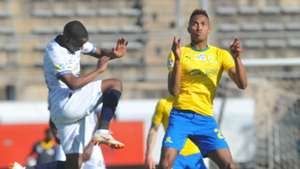 Thabo Nodada, Cape Town City & Toni Silva, Mamelodi Sundowns, August 2018