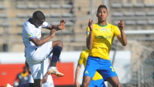 Thabo Nodada, Cape Town City & Toni Silva, Mamelodi Sundowns, August 2018
