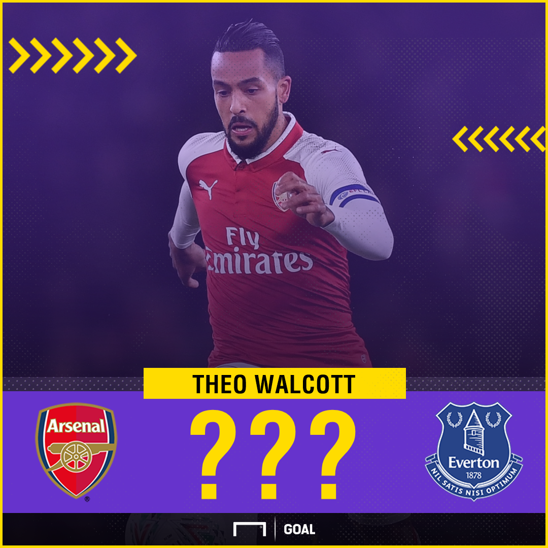 Theo Walcott Arsenal to Everton