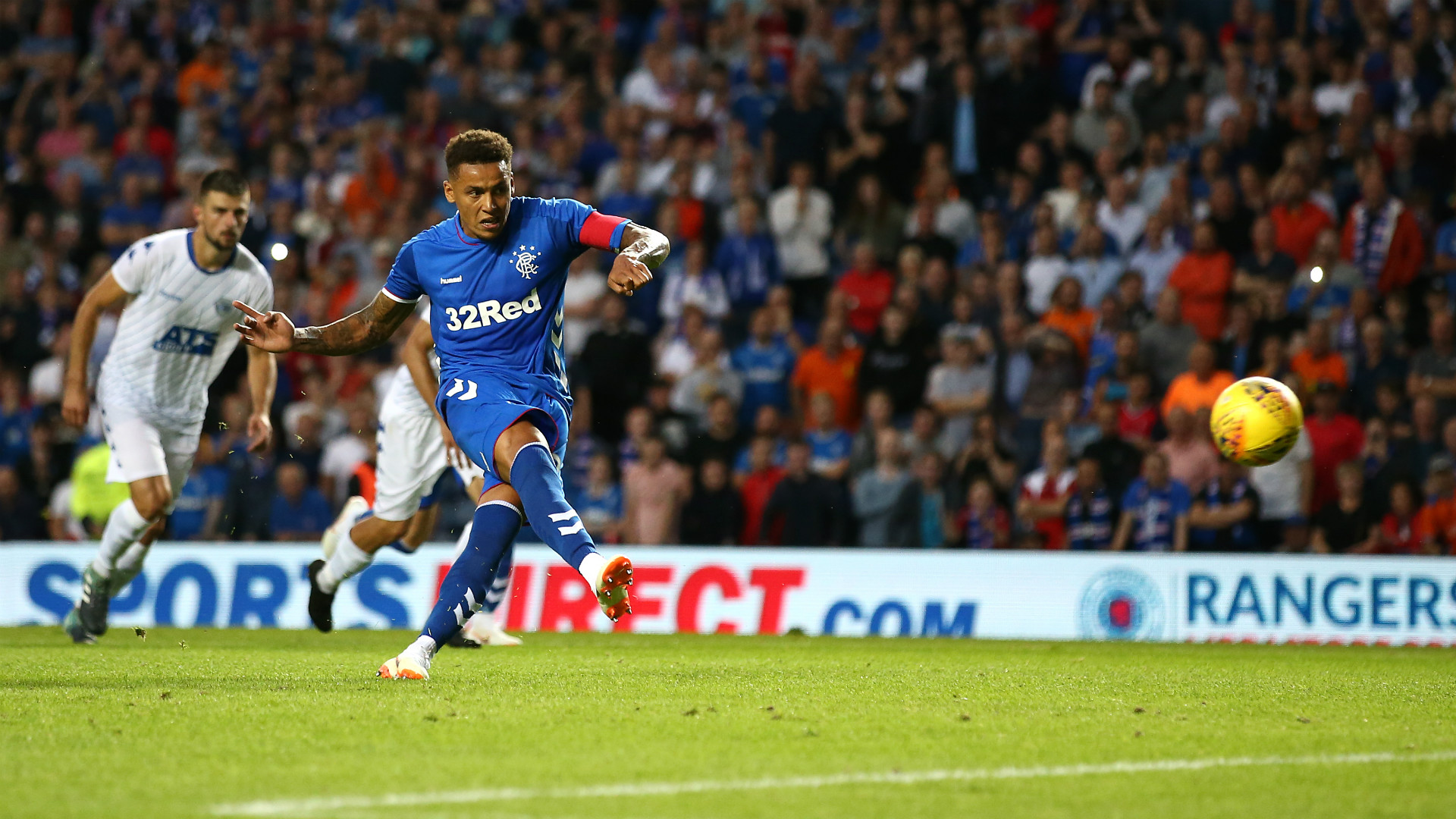 James Tavernier Rangers Europa League 2018-19