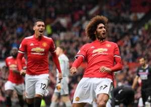 Manchester United vs Crystal Palace Marouane Fellaini