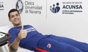 Morata reconocimiento medico Atletico Madrid