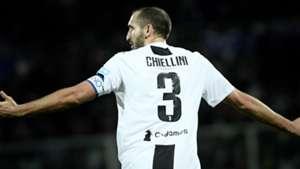 Chiellini Fiorentina Juventus Serie A