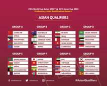 World cup qualifier, Hong Kong to face Iraq and Iran in Group C.