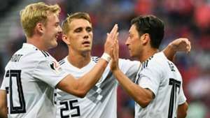 Julian Brandt Mesut Özil Germany 02062018